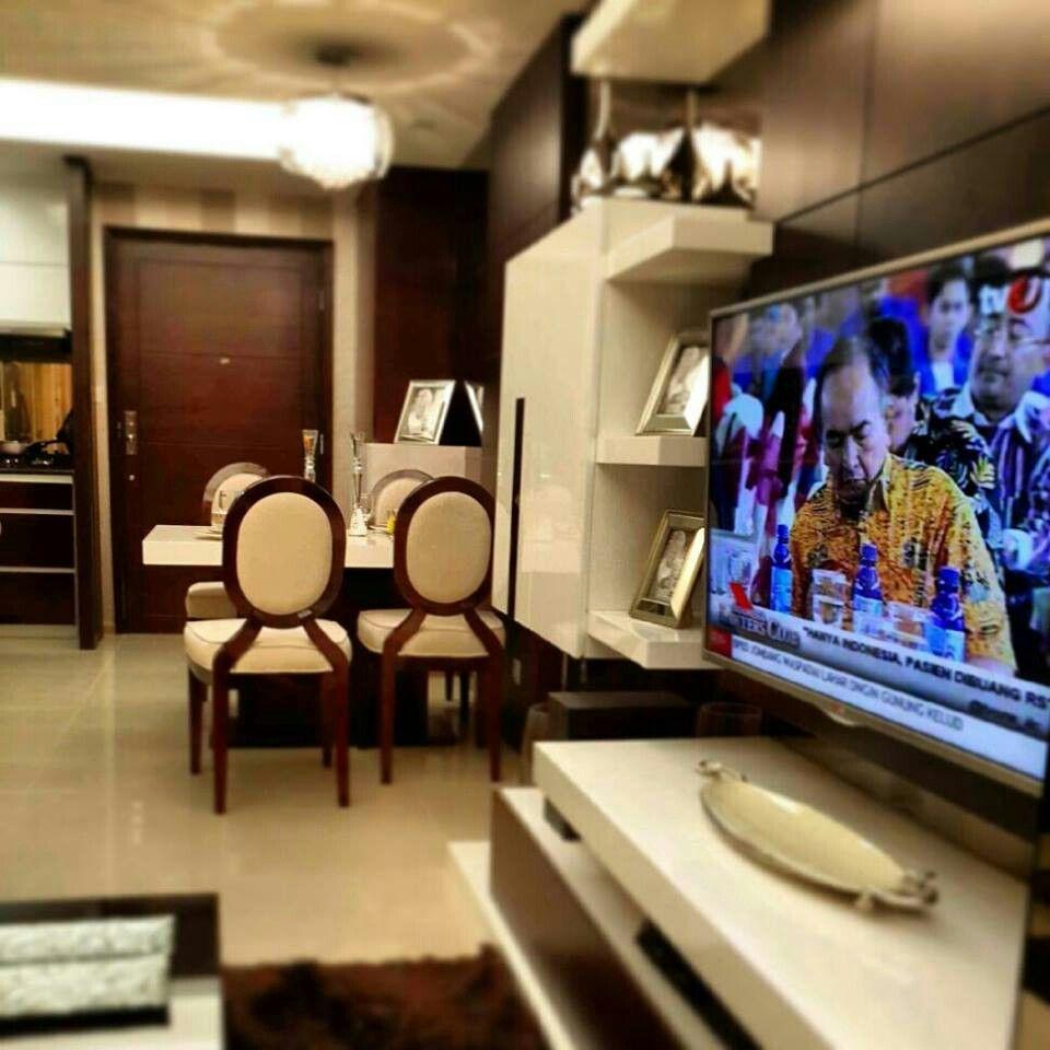 Casa Grande Jakarta White Brown Studio Interior Interior