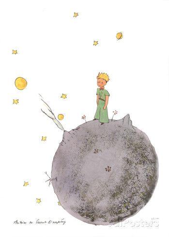 Le Petit Prince et son Asteroide | Pinterest | Dibujo