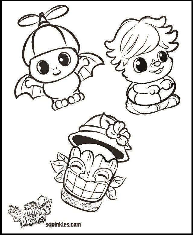 - Meet The Squinkies Coloring Sheet Coloring Books, Coloring Pages For Boys,  Shopkins Colouring Book