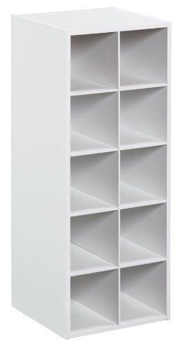 Good ClosetMaid Bookshelf Drawers White Wall Case 100 Cube Kids Toys Organizers  Home