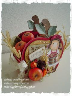 Apple basket template Sandra's Scrapshop