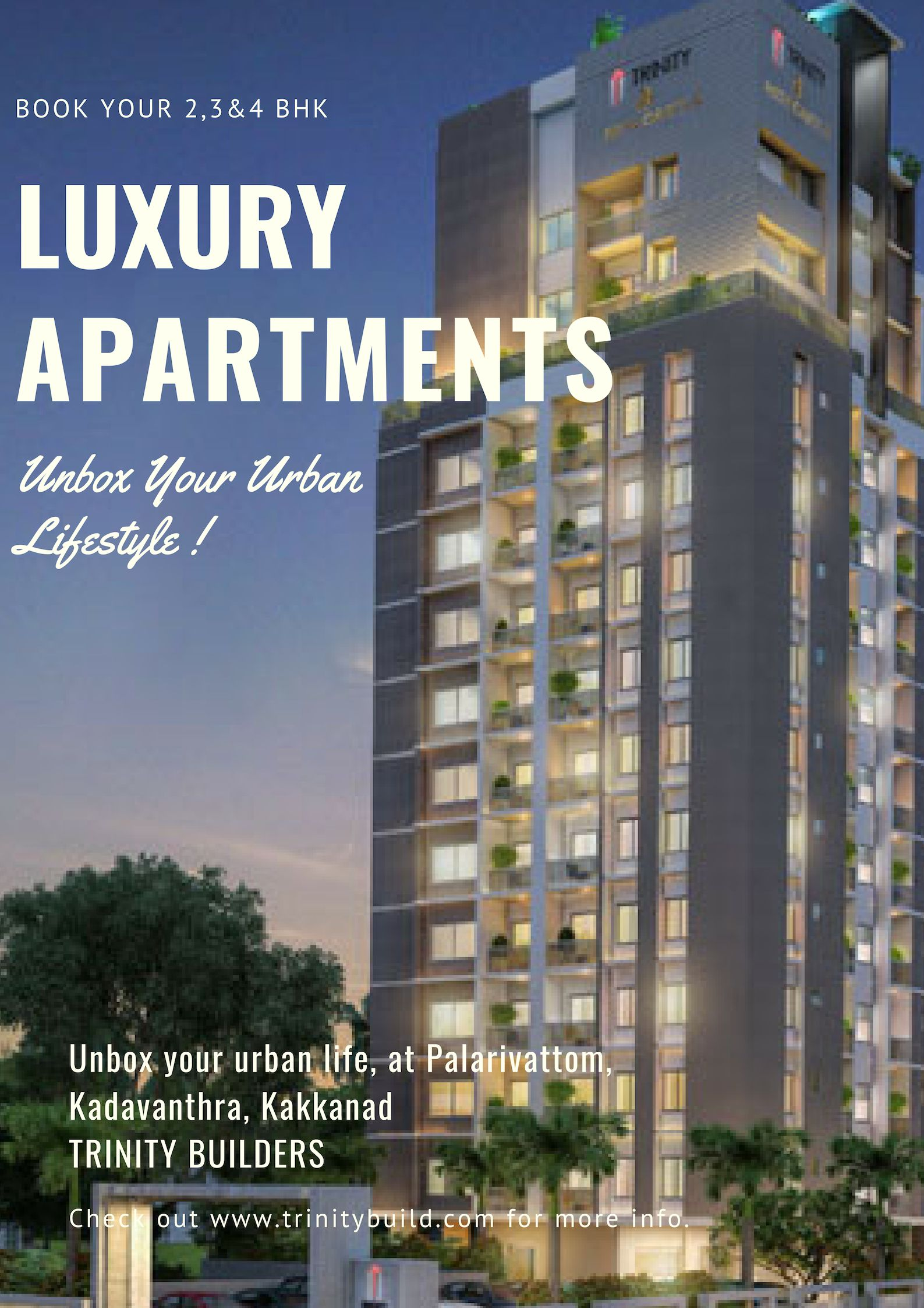 2 3 4 Bhk Luxury Flats In Kochi At Reasonable Rates Unbox Your Urban Life Ernakulam The Apartments Offering Unmatched Connectivity And