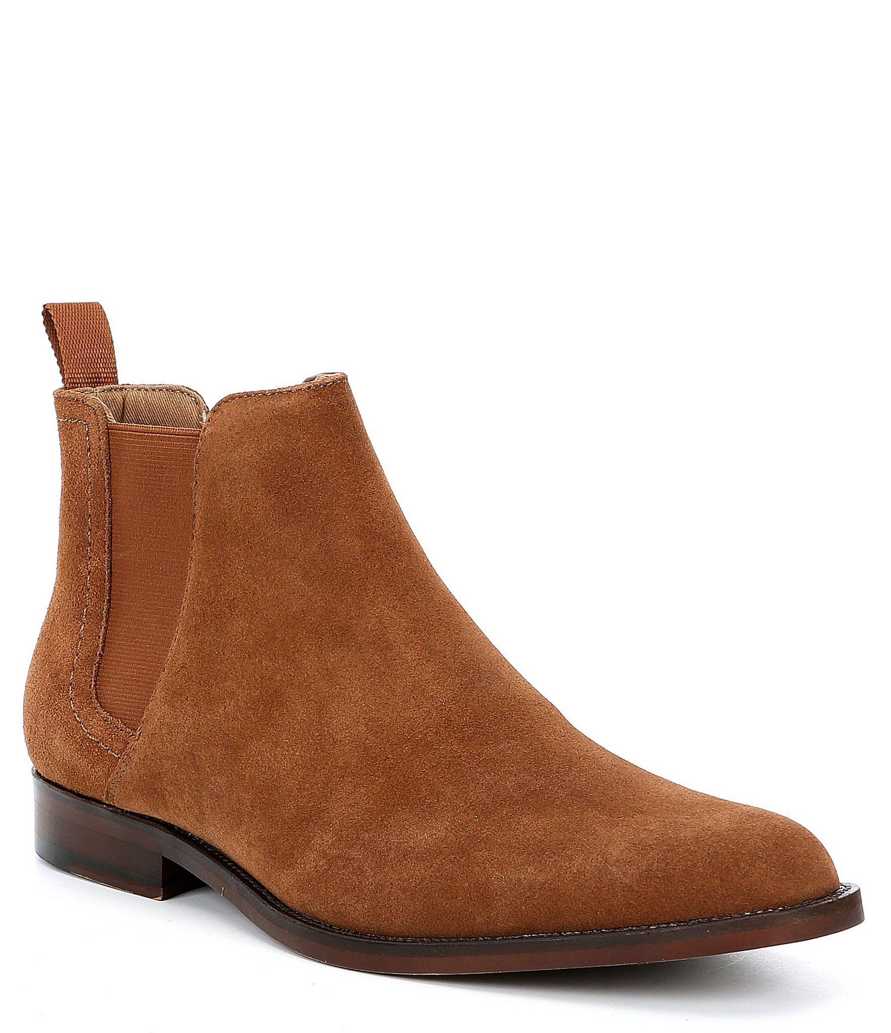 Garien Suede Chelsea Boots