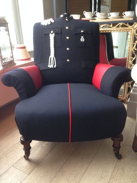 Quirky Unique Military Policeman Bobby By Rescuedretrovintage