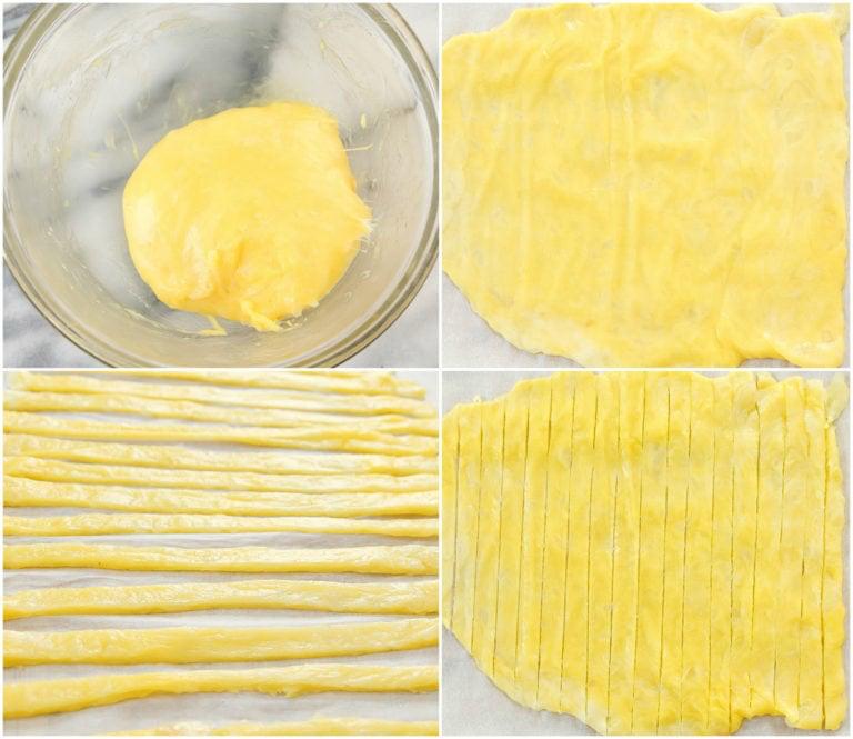 2 Ingredient Keto Pasta