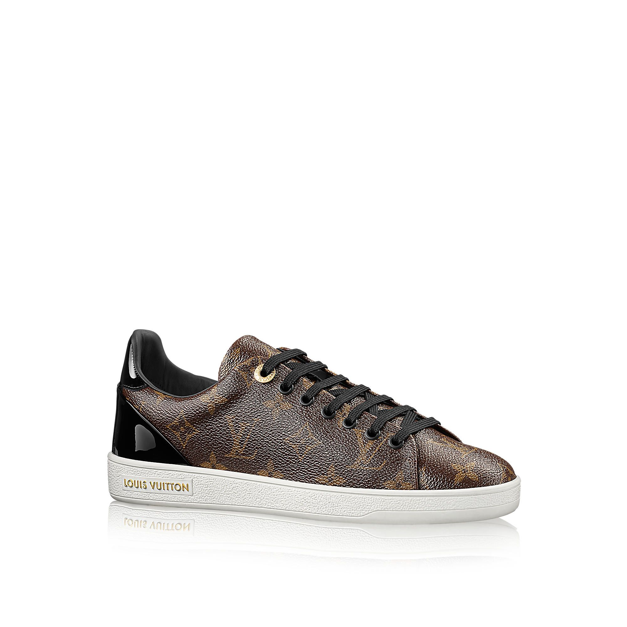 Discover Louis Vuitton Frontrow Sneaker: Reinterpreting the classic tennis  shoe, this stylish sneaker in Louis Vuitton& iconic patent Monogram canvas  has a ...