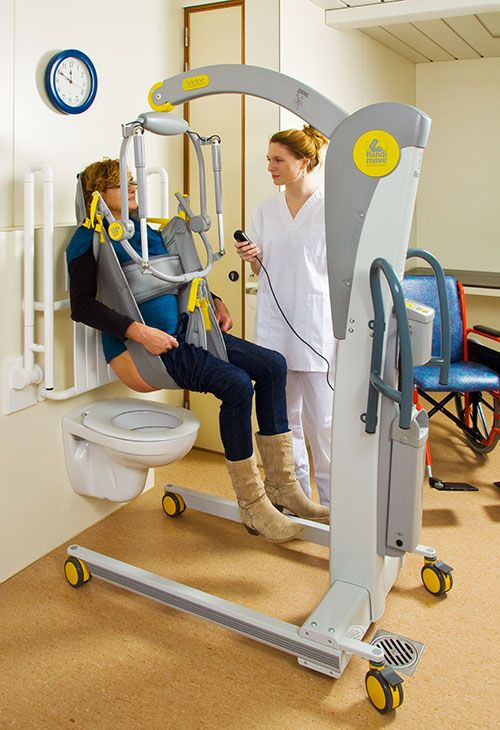 Medical Lift Equipment : Victor mobile patient lifting hoist with tilting spreader