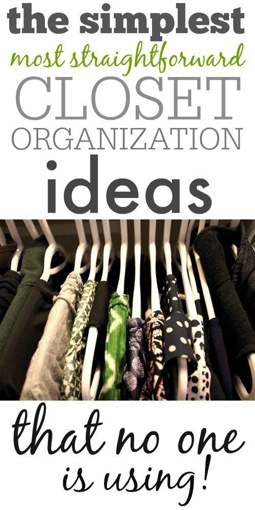 Merveilleux Easy, Simple Closet Organization Ideas That Have Been Forgotten By Time And  The Companies That