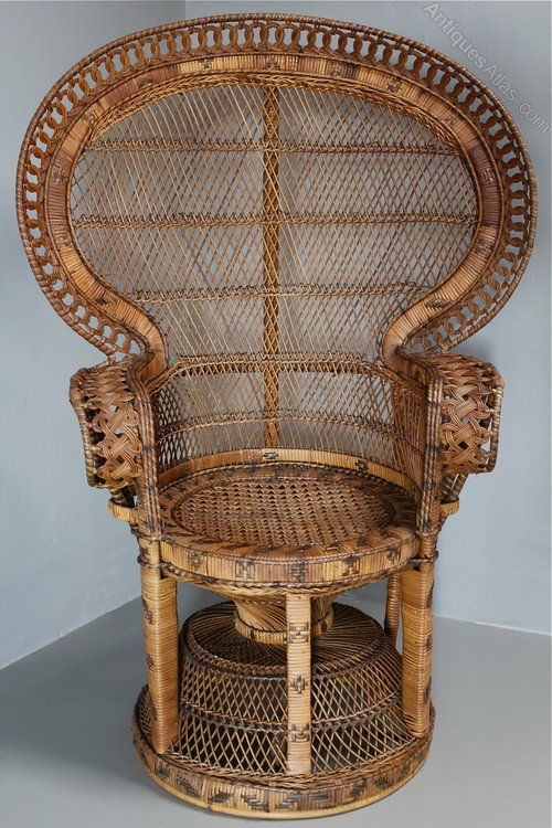 rattan peacock chair overstock dining room covers antiques atlas 1960 s chairs in