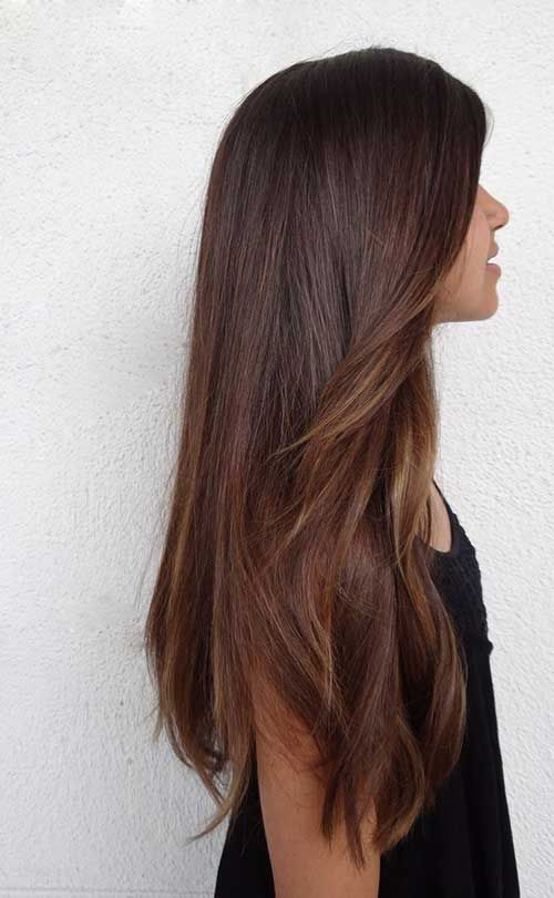 8 Brown Long Hairstyle Lange Haare Lange Braune Haare Haarfarbe Brunett
