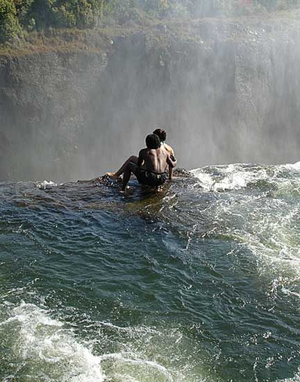 Devil 39 S Swimming Pool Zimbabwe Victoria Falls Places Things I Want To See Pinterest