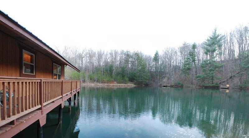 Helen, GA Cabin Rentals | Knotts Landing | Lovely 1 Bedroom Cabin Set Right  On