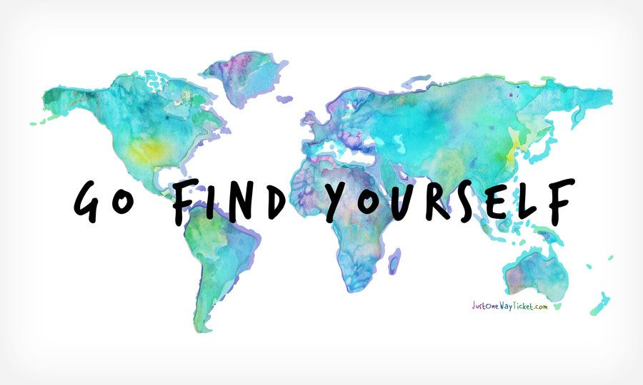 Go find yourself travel the world pinterest ipad app and go find yourself world map gumiabroncs Images