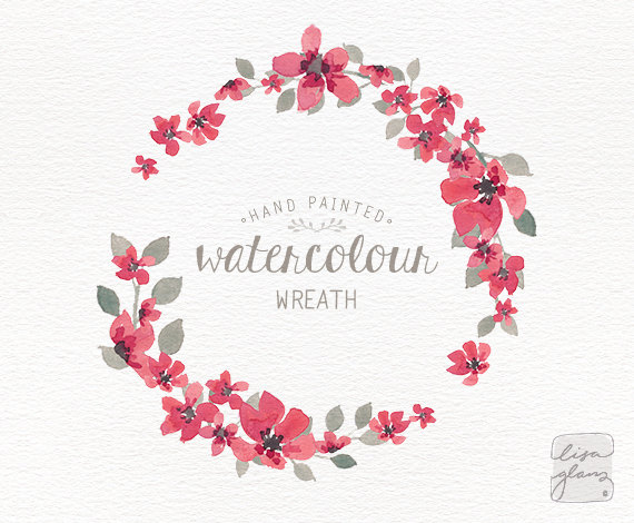 Watercolor wreath 1 png floral wreath clipart wedding invitation watercolor wreath 1 png floral wreath clipart wedding invitation clip art commercial use simple pink small flowers cm0063i mightylinksfo