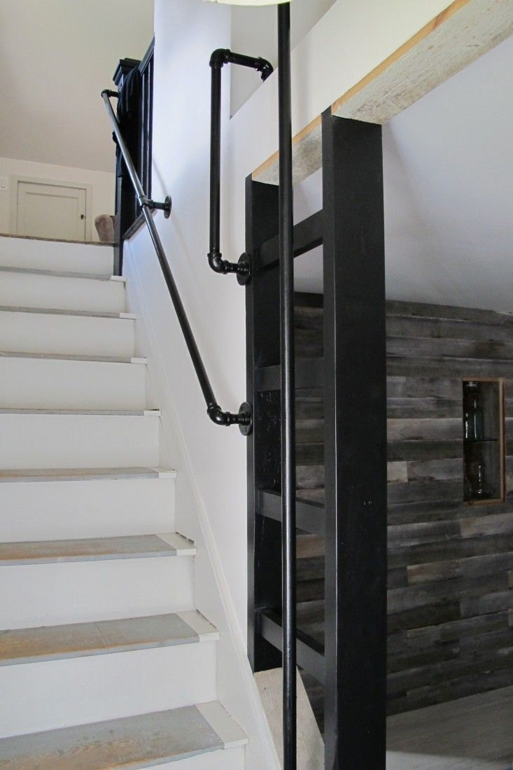 Loft access stairs and ladders san francisco by royo architects - American Gothic A Hudson Valley Home Reborn Stair Ladderblack