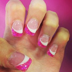 Pink and white solar nails prava neht pinterest solar nail pink and white solar nails prinsesfo Choice Image