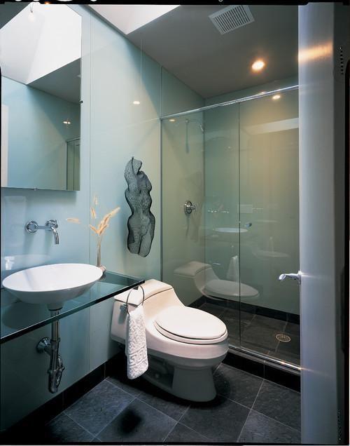 Imagen ba os modernos peque os fotos con ideas de - Fotos de decoracion de banos ...