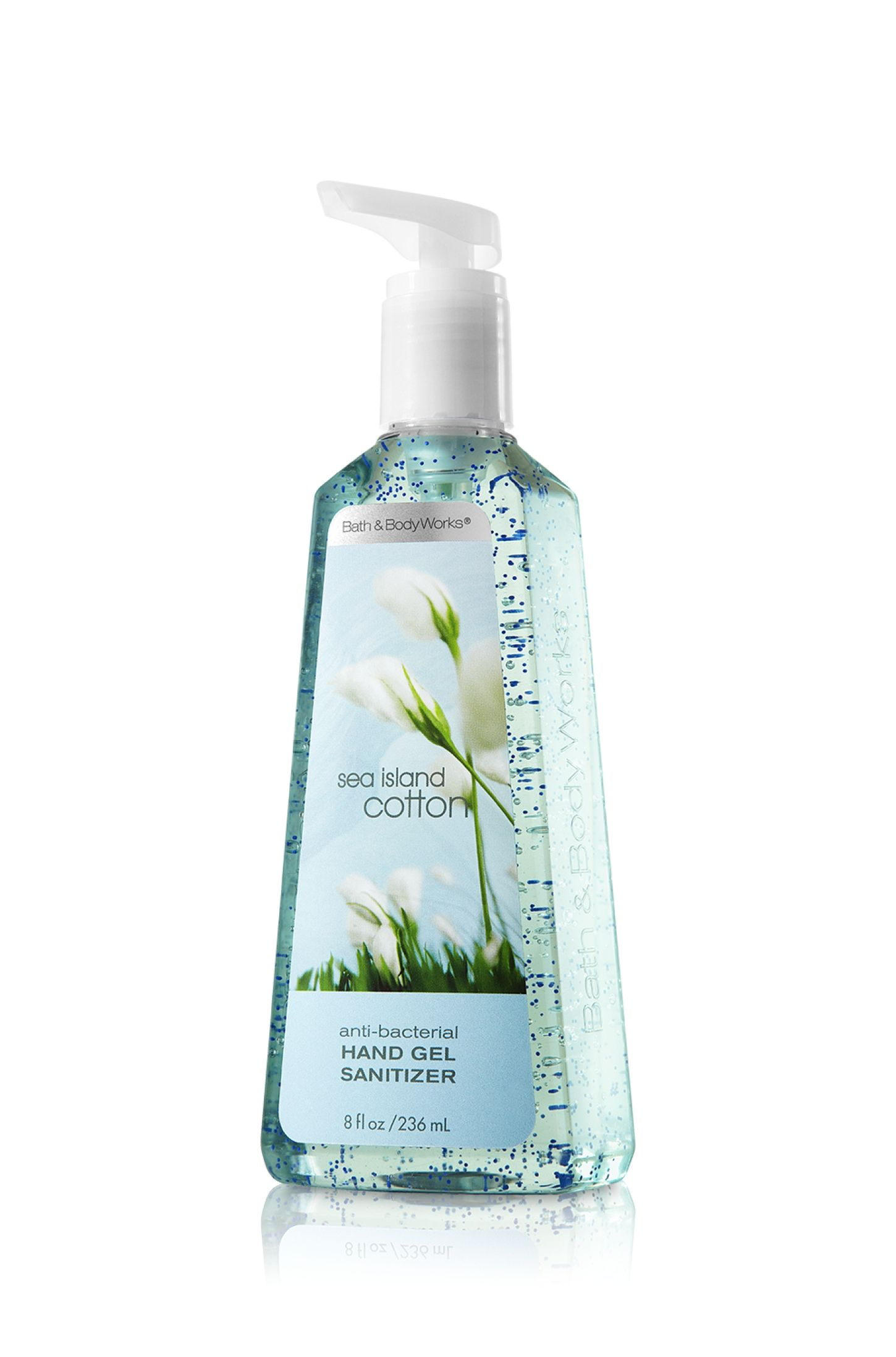 Sea Island Cotton Sanitizing Hand Gel Anti Bacterial Bath