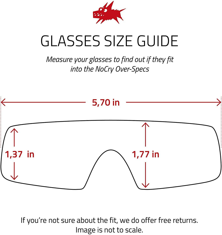 NoCry OverGlasses Safety Glasses in 2020 Prescription