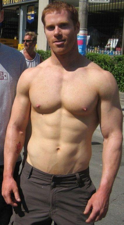 Hot Redhead Hard Nipples