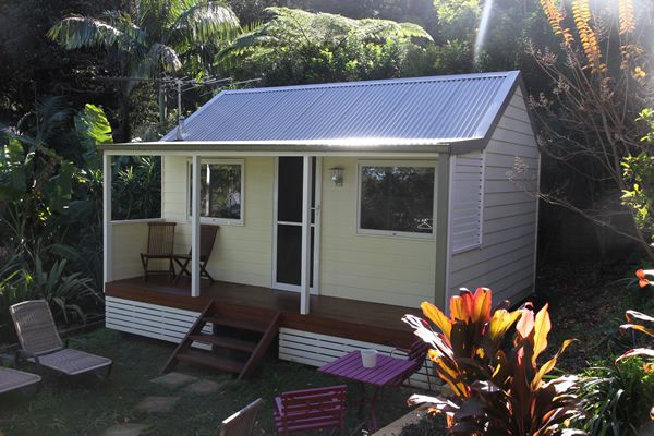 Australia 39 s backyard cabins granny flats tiny houses for Granny cabins
