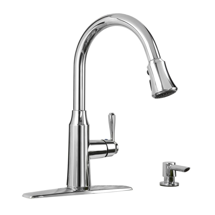 Shop American Standard Soltura Polished Chrome 1 Handle Pull Down