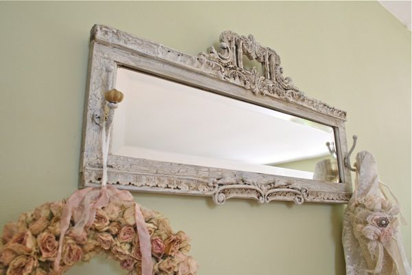 The Polka Dot Closet: Cabinet Door + Ornate Picture Frame ...
