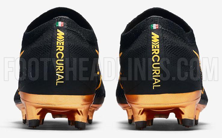 7df3b189d94  Black   Metallic Gold  Nike Flyknit Ultra Boots Released - Footy  Headlines.