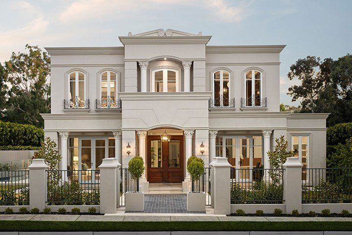 French Inspired Homes For Australian Living Classic House Design