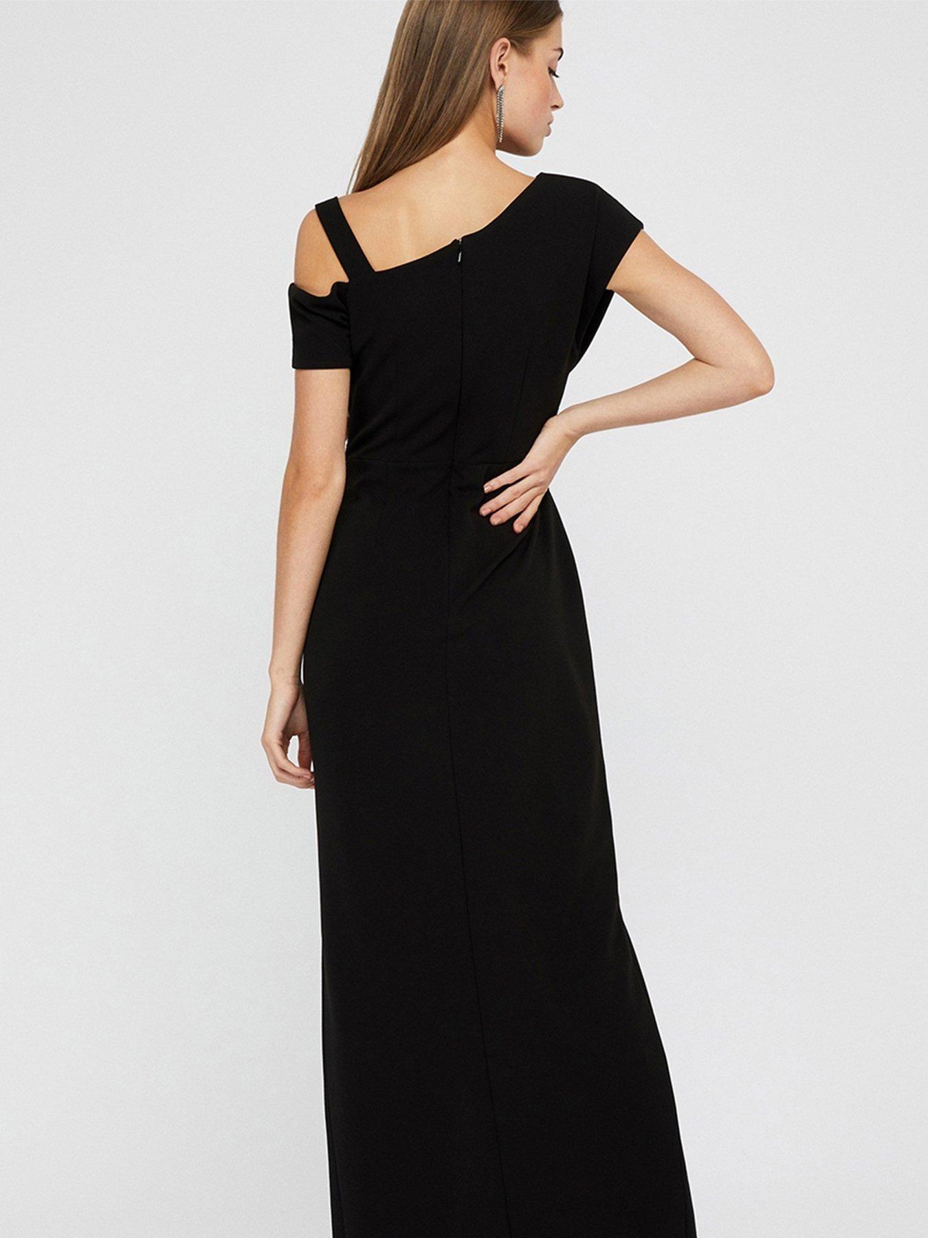 Monsoon Monsoon Octavia Sequin Insert Maxi Dress, Black, Size 10, Women - Black - 10 #blackmaxidress