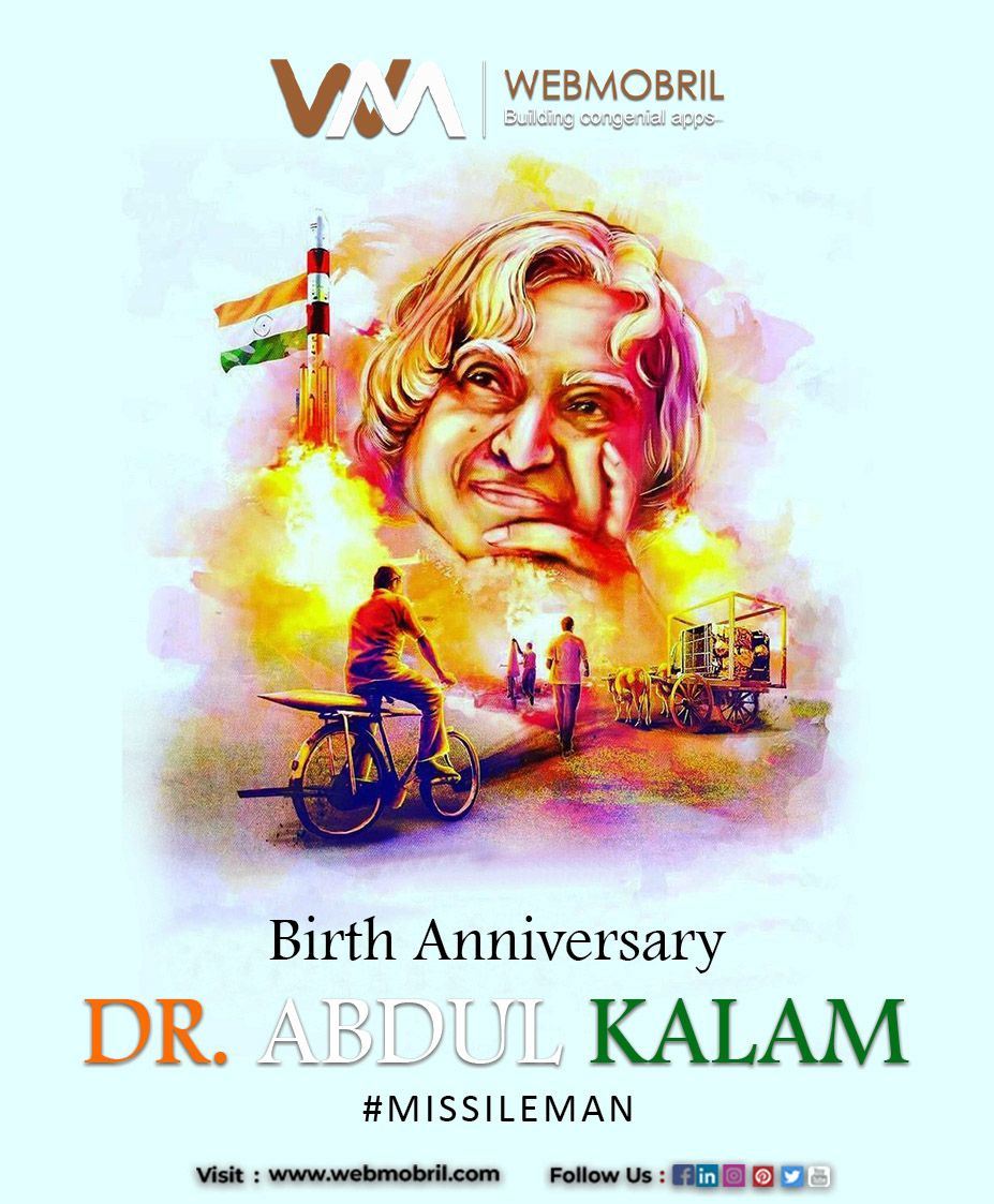 Apj Abdul Kalam Birthday India Poster Abdul Kalam Galaxy Pictures
