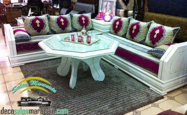 un salon marocain cent pour cent traditionnel présente l\'art et l ...
