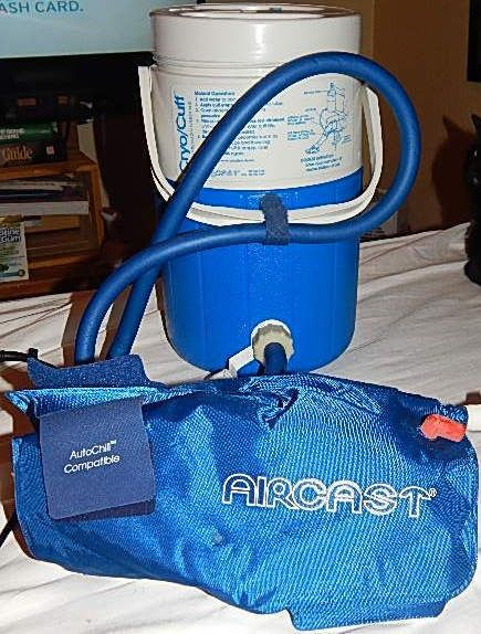 Aircast Cryo Cuff Compression Cooler System With Medium Knee Cuff