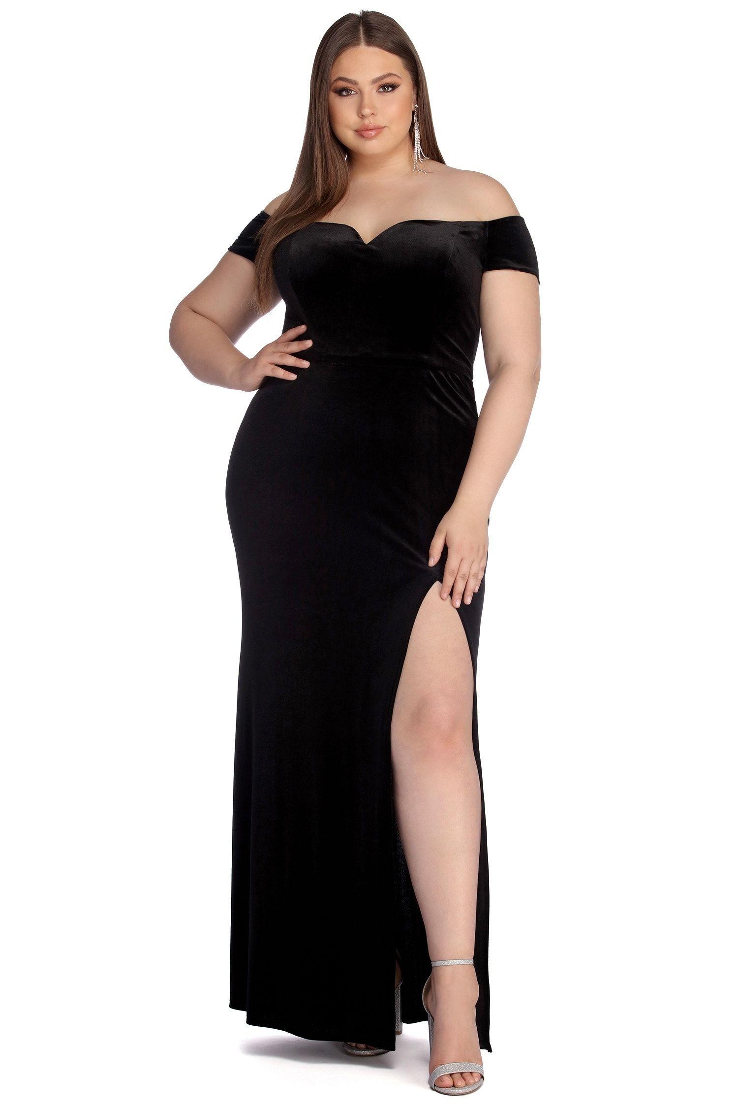 43++ Velvet wedding dress plus size info