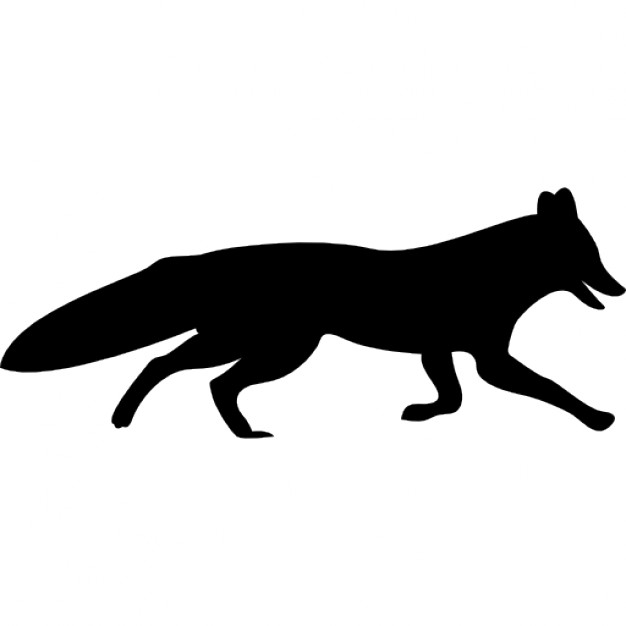 Icon Drawing Fox Download Number 35681 Daily Updated Free Icons And Png Images For Your Projects All Images Use T Fox Silhouette Free Icons Silhouette Png