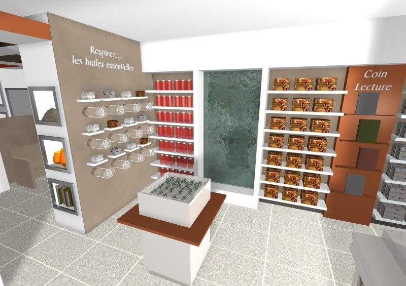 Http Www Identysign Com Details Images 3 D De L Agencement Interieur D Une Pharmacie Marseille Aix En Provence Nice Gap Toulon 8 Home Decor Wine Rack Storage