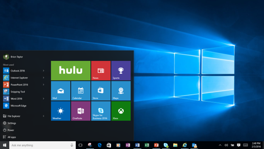 Hulu Comes To Windows 10 news tech world Windows 10