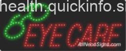 Eye Care, Logo LED Sign-ANSAR20239  11