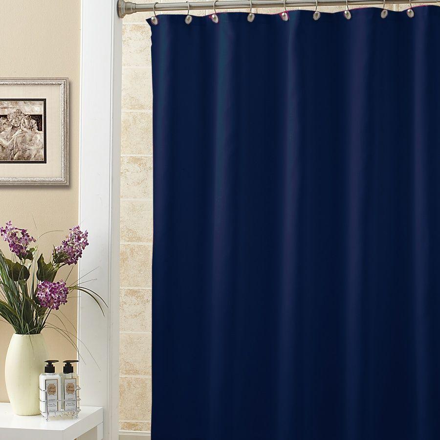 dark blue shower curtain. Dark Blue Terylene Fabric Waterproof Bathroom Shower Curtain Solid Color  Affiliate