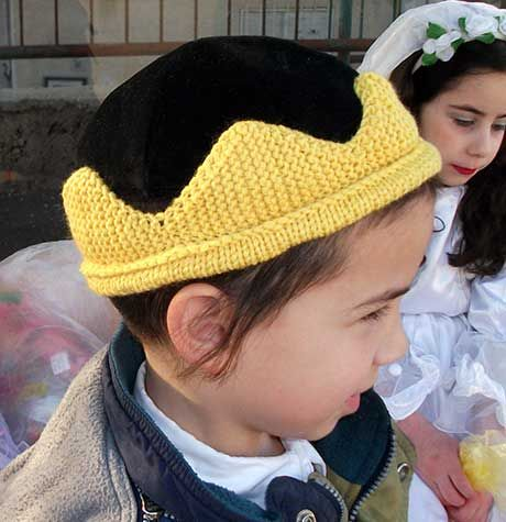 Everyone deserves a knitted crown