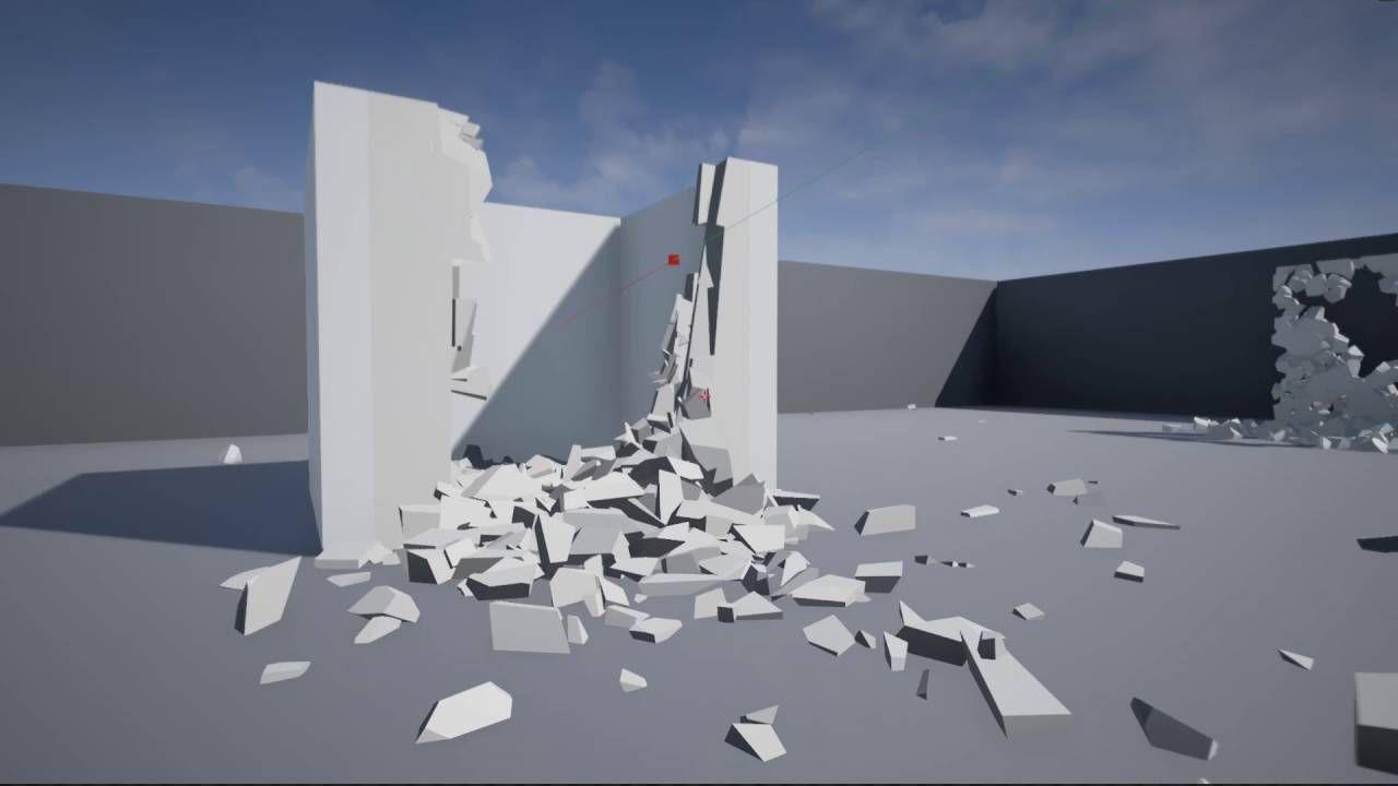 APEX PhysX Destruction   Unreal Engine 4   PC games