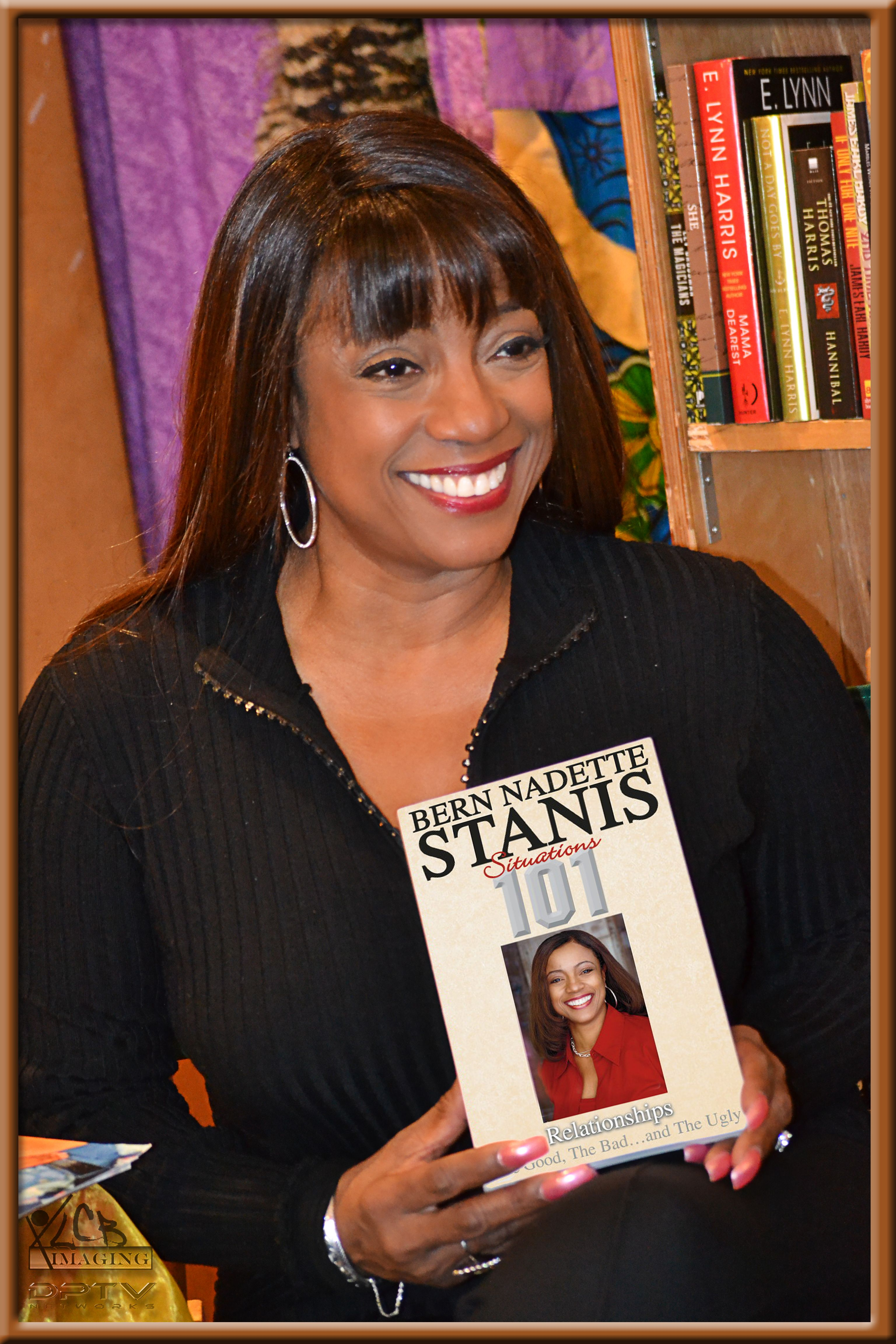 Bern Nadette Stanis At The Harlem Book Store Places To