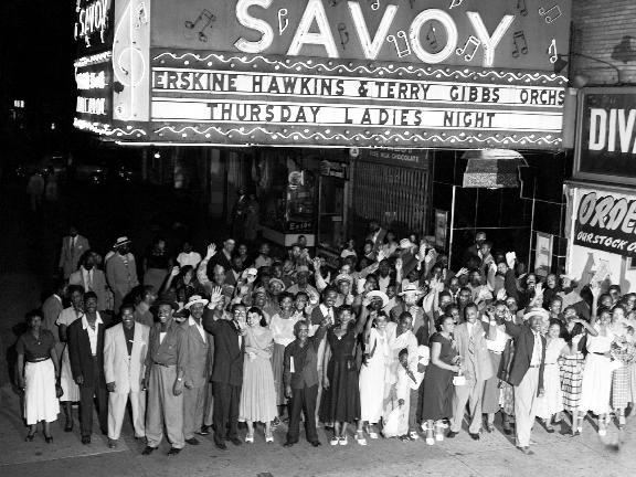 Harlem Renaissance Fashion   The Savoy Ballroom is located in Harlem. This is where the Lindy Hop ...