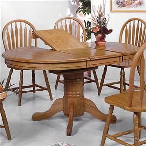 Crown Mark Windsor Solid Dining Table  Diy Craft  Pinterest Entrancing Dining Room Chairs Oak Decorating Design
