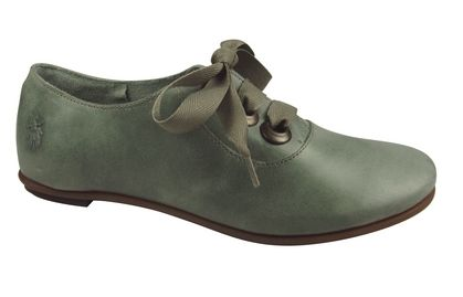 Fly London Frances 2012 green shoes