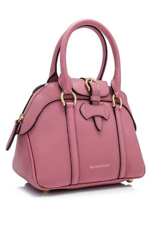 6a77bcbea143 Burberry Derby Leather Small Milverton Tote | Branded Bag | Bags ...