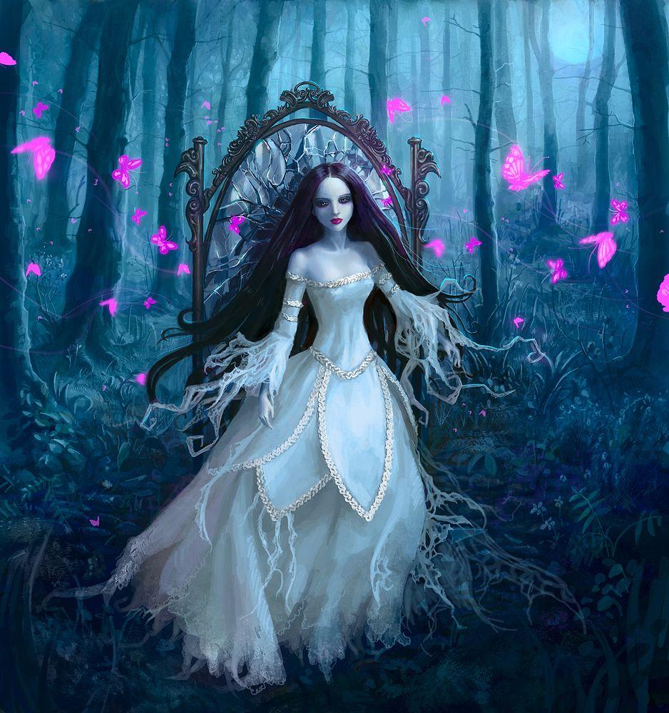 Gothic Fairytale Deviantart Fantasy Art