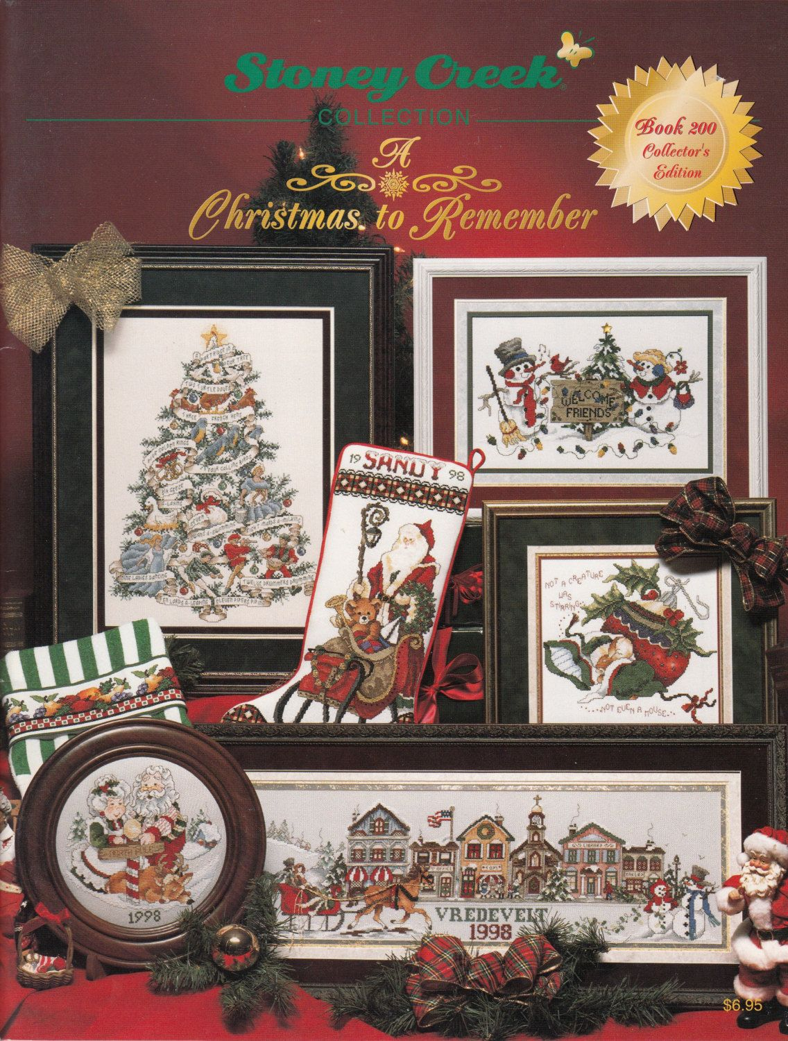 Cross Stitch Book Stoney Creek Collection Book 200 A