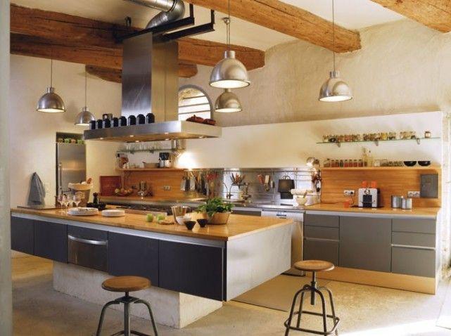 1000 images about dco loft industriel on pinterest - Cuisine Esprit Loft Industriel