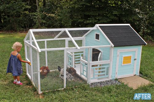 How To Move A Large Chicken Coop
